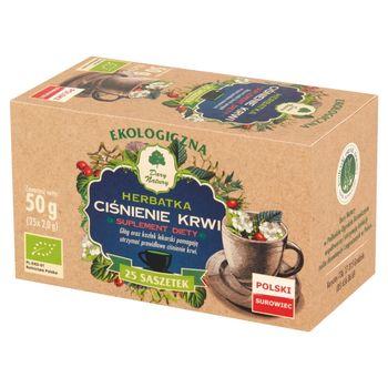 Dary Natury Suplement diety ekologiczna herbatka ciśnienie krwi 50 g (25 x 2,0 g)