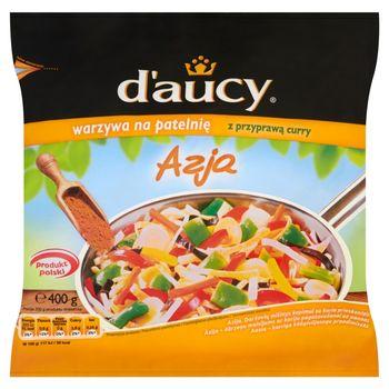 d'aucy Azja Warzywa na patelnię z przyprawą curry 400 g