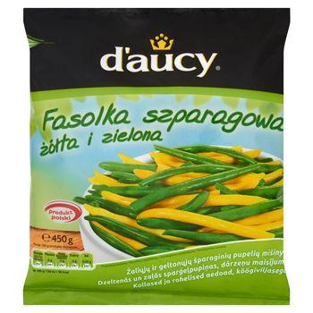 d'aucy Fasolka szparagowa żółta i zielona 450 g