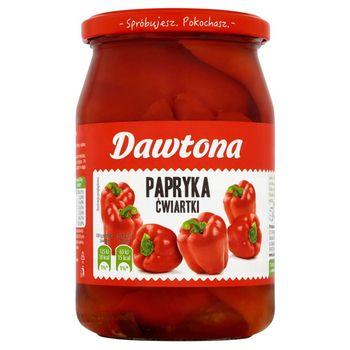 Dawtona Papryka ćwiartki 680 g