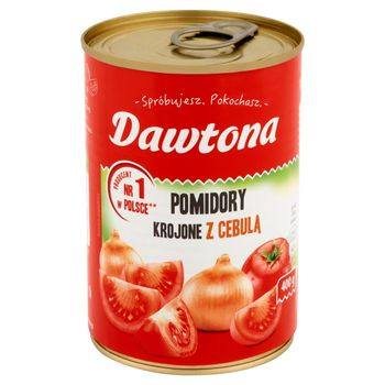 Dawtona Pomidory krojone z cebulą 400 g