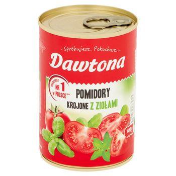Dawtona Pomidory krojone z ziołami 400 g