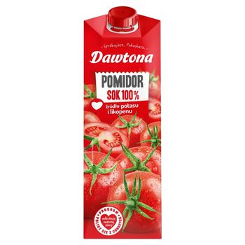 Dawtona Sok 100% pomidor 1 l