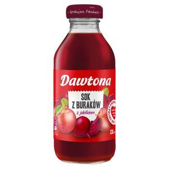 Dawtona Sok z buraków z jabłkiem 330 ml
