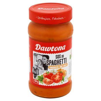 Dawtona Sos do spaghetti pomidorowo-śmietanowy 550 g