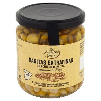 De Nuestra Tierra Fasola w oliwie z oliwek 345 g
