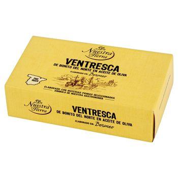 De Nuestra Tierra Ventresca Brzuszki z tuńczyka w oliwie z oliwek 115 g