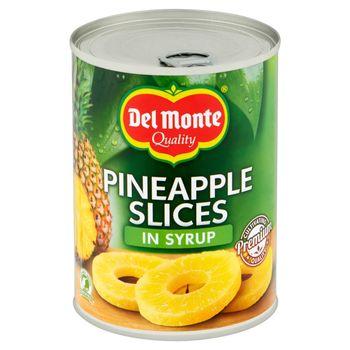 Del Monte Plastry ananasa w syropie 570 g