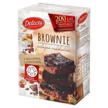 Delecta Brownie Ciasto w proszku 550 g
