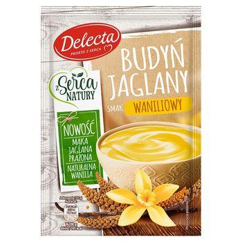 Delecta Budyń jaglany smak waniliowy 53 g
