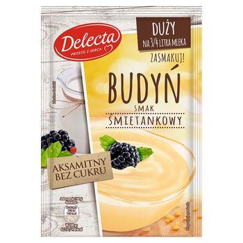Delecta Budyń smak śmietankowy 64 g