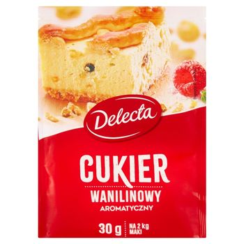 Delecta Cukier wanilinowy 30 g