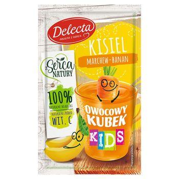Delecta Owocowy kubek Kids Kisiel marchew-banan 31 g