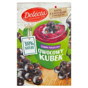 Delecta Z serca natury Owocowy kubek Kisiel o smaku czarnej porzeczki 30 g