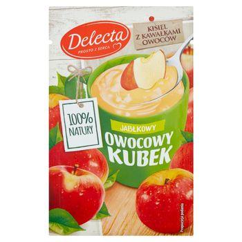 Delecta Z serca natury Owocowy kubek Kisiel o smaku jabłkowym 30 g