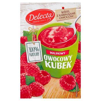 Delecta Z serca natury Owocowy kubek Kisiel o smaku malinowym 30 g