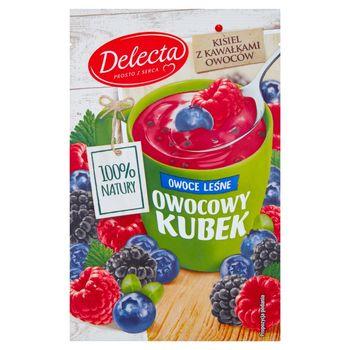 Delecta Z serca natury Owocowy kubek Kisiel o smaku owoców leśnych 30 g