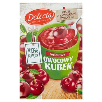 Delecta Z serca natury Owocowy kubek Kisiel o smaku wiśniowym 30 g