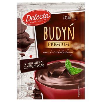Delecta Premium Budyń smak czekoladowy z belgijską czekoladą 47 g