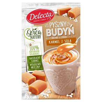 Delecta Z serca natury Pyszny budyń instant o smaku karmel z solą 40 g