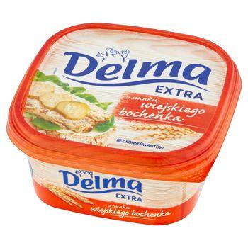 Delma Extra Margaryna o smaku wiejskiego bochenka 450 g