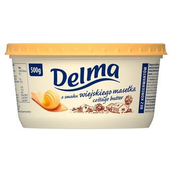 Delma Margaryna o smaku wiejskiego masełka 500 g