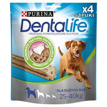 Dentalife Large Uzupełniająca karma dla dorosłych psów 142 g (4 sztuki)