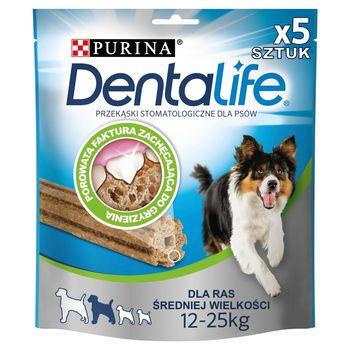 Dentalife Medium Uzupełniająca karma dla dorosłych psów 115 g (5 sztuk)