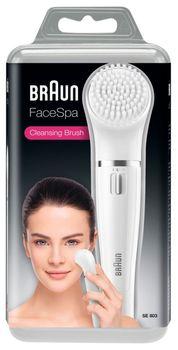 BRAUN Szczoteczka do oczyszczania twarzy FaceSpa 803