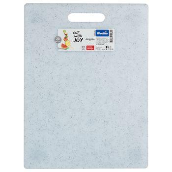 Deska Kuchenna do Krojenia ROTHO Duża Biała Granit 36,5 x 27,5 cm