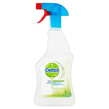 Dettol Antybakteryjny spray do powierzchni o zapachu limonki z miętą 500 ml