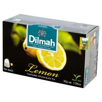 Dilmah Cejlońska czarna herbata z aromatem cytryny 30 g (20 torebek)