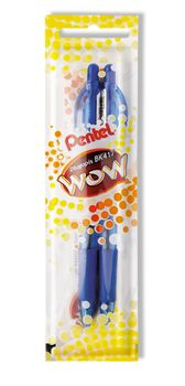 PENTEL Długopis automatyczny Niebieski (2 sztuki) BK417