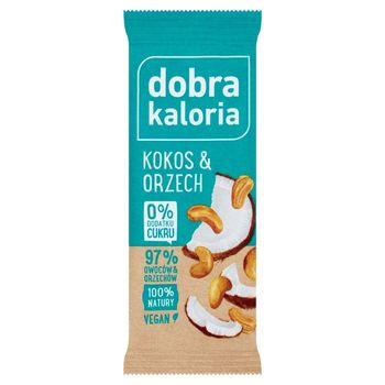 Dobra Kaloria Baton owocowy kokos & orzech 35 g