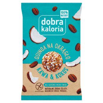 Dobra Kaloria Quinoa na okrągło kawa & kokos 24 g