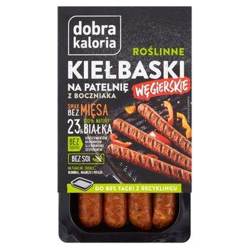 Dobra Kaloria Roślinne kiełbaski na patelnię węgierskie 180 g