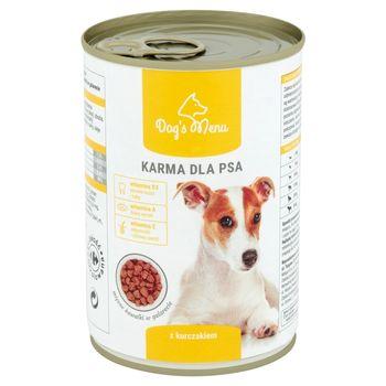 Dog's Menu Karma dla psa z kurczakiem 400 g