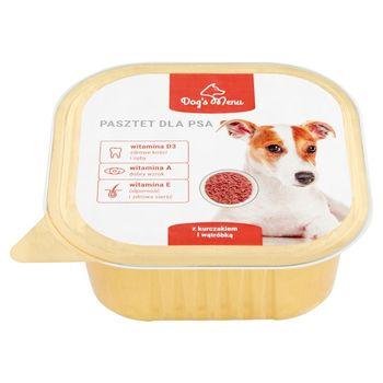 Dog's Menu Pasztet dla psa z kurczakiem i wątróbką 300 g