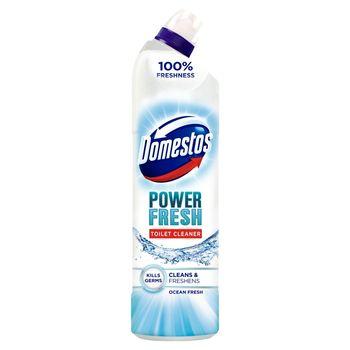 Domestos Total Hygiene Ocean Fresh Żel do czyszczenia toalet 700 ml