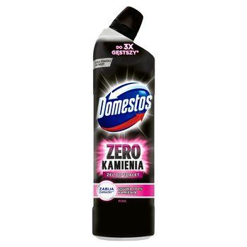 Domestos Zero Kamienia Żel do toalet Pink 750 ml
