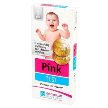 Domowe Laboratorium Pink Test Domowy test ciążowy