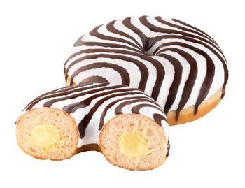 Donut z nadzieniem waniliowym 76 g