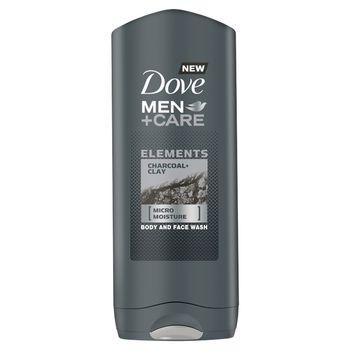 Dove Men+Care Elements Charcoal+Clay Żel pod prysznic 400 ml