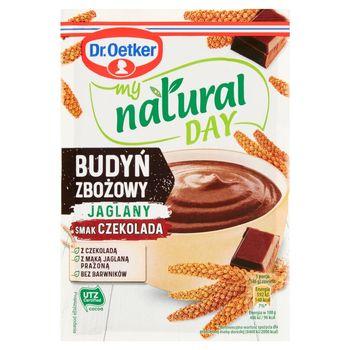 Dr. Oetker My Natural Day Budyń zbożowy jaglany smak czekolada 56 g