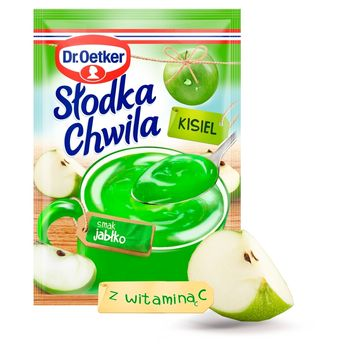 Dr. Oetker Słodka Chwila Kisiel smak jabłko 30 g