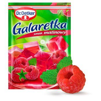 Dr. Oetker Galaretka o smaku malinowym 77 g