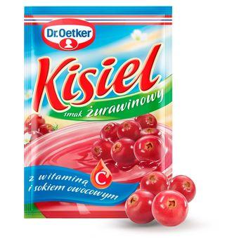 Dr. Oetker Kisiel smak żurawinowy 38 g