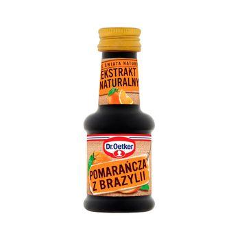 Dr. Oetker Ze świata natury Ekstrakt naturalny pomarańcza z Brazylii 30 ml