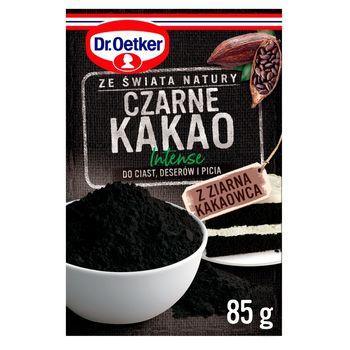 Dr. Oetker Ze świata natury Intense Czarne kakao 85 g