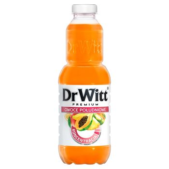 DrWitt Premium Koncentracja Napój owoce południowe 1 l